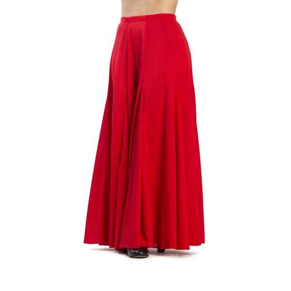 100% de alta calidad liberar información sobre moda mejor valorada Falda ensayo flamenco para niña